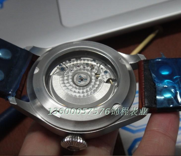 47 мм PARNIS Автоматические Self-ветер движение мужские часы big pilot циферблат Высокое качество Часы оптом x00014a