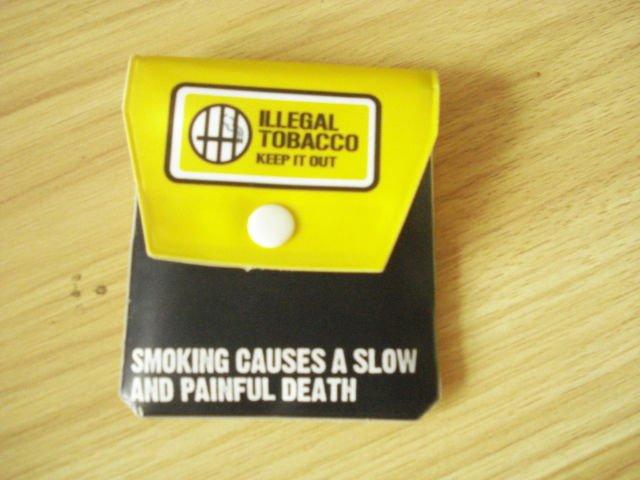 Bolsillo de la ceniza de cigarrillo