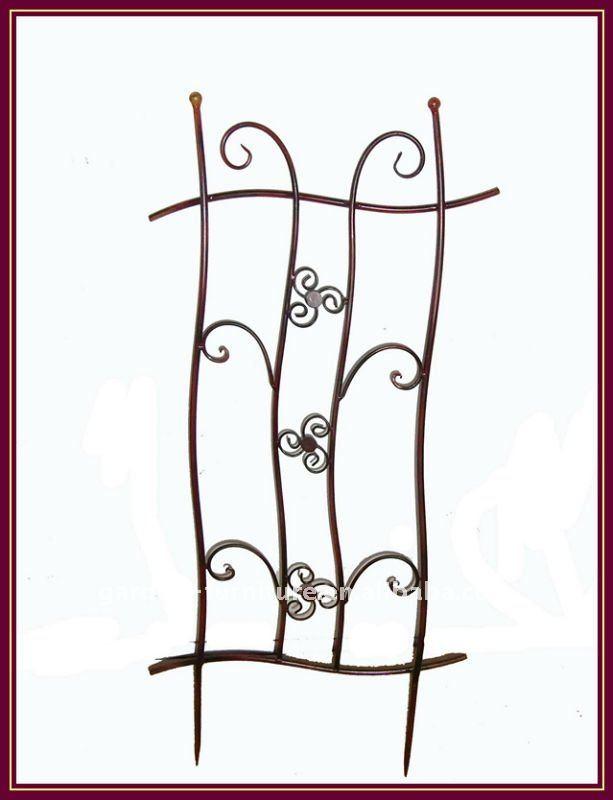 Garden Wall Trellis Wrought Iron Metal Fence Buy Garden