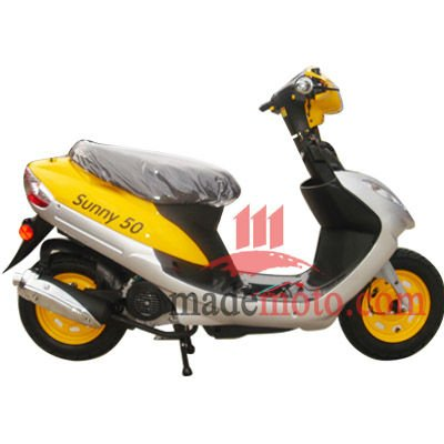 Gas Motor Scooter with 4 Stoke 80cc Engine