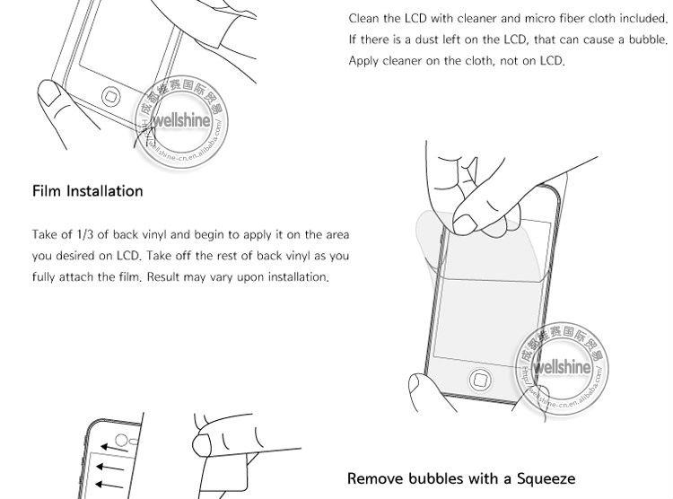 HD Clear Screen Protector For Ipad Mini