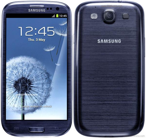 niebieski SAMSUNG GALAXY S3