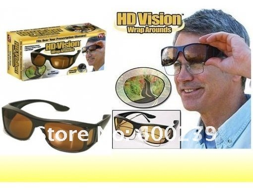 10pcs HD Vision Wraparound Glasses Driving Glasses Sun Glasses Wrap Arounds Unisex And Mixed Colors Free Shipping