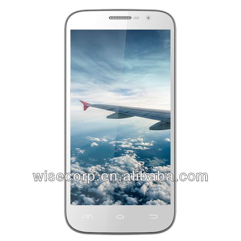 Original DOOGEE BIGBOY DG600 Android Cell Phone MTK6572W Dual Core 8.0MP ROM 4GB 6'' 3G 960x540 pixel QHD Screen