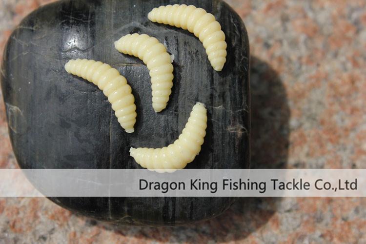 силиконовый опарыш для рыбалки