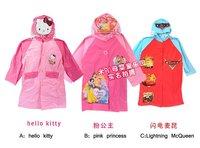 Free shipping cartoon children raincoat wholesale and retail