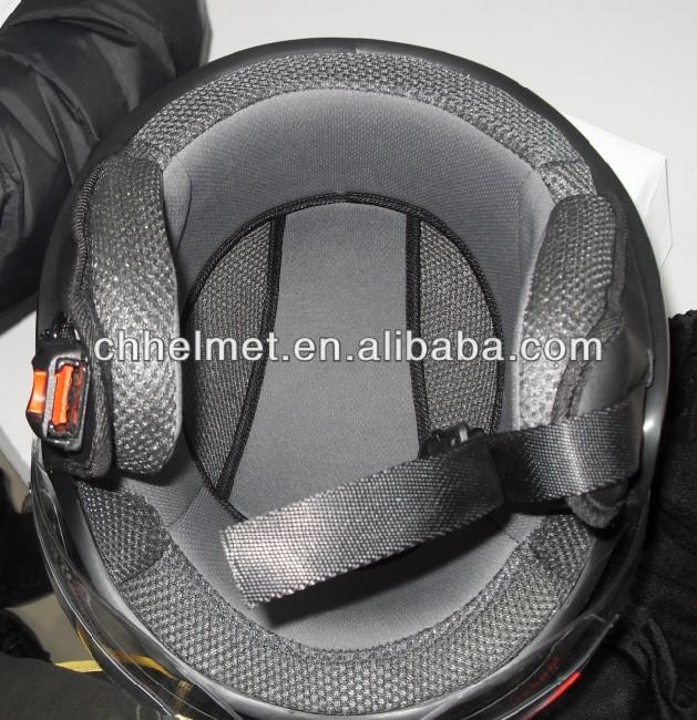 Jet scooter helmet in fashion design