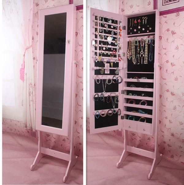 Fashional home decor mirror jewelry storage