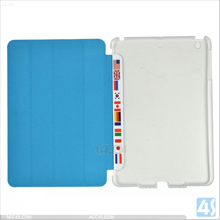 For iPad Mini 2 Smart Case Leather Cases P-IPDMINIiiCASE038