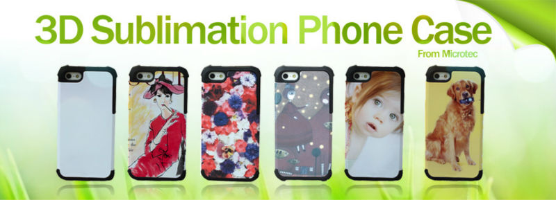 3D sublimation Case, Cell Phone Case for iPhone /Samsung OEM/ODM