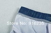 XUBA Charming Men's Underwear Handmade Bandhnu Cowboy Theme Cotton Boxer Briefs