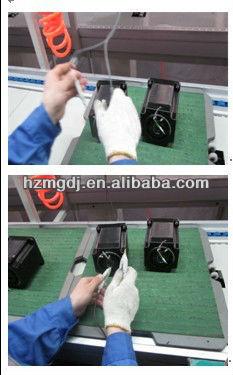 3 phase stepper motor testing 2