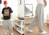Longer Style Good Quality Hip Hop Sport Pants, Casual YOGA DANCING Long Trousers 11 Collors  M-XXL Men & Women 's Pants EE-158