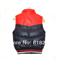 Жилет для мальчиков 2013 new winter boys hooded cotton vest children plus thick velvet the waistcoat kids' fashion a Waistcoat Updated Quality