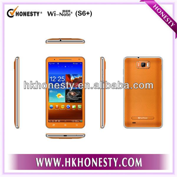 MTK 6577, Dual core,6 inch 3G CDMA GSM mobile phone
