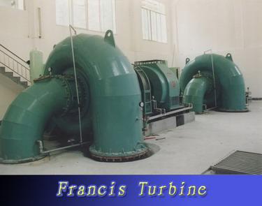 Francis Hydraulic Water Turbine for Generator