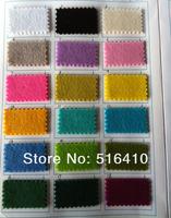 3 мм толщиной полиэфирной чувствовал 1 ярд - замечательна для приготовления обувь / торты / подставки / колодки и т.д. 30 ярких цветов для вашего собственного выбора