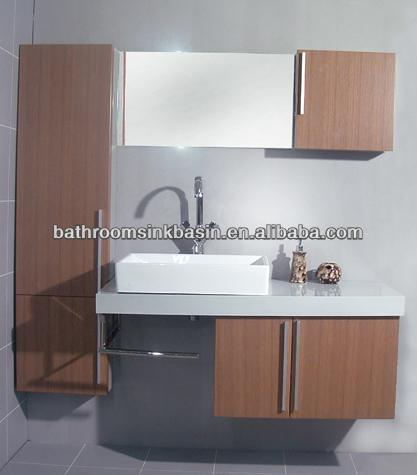 Diana badkamer ijdelheid modulaire badkamer ijdelheid enkel wastafel kast klassiek design - Badkamers bassin italiaanse design ...
