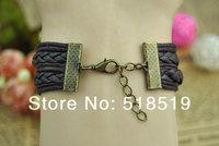 Кожаный браслет EDLOVE 12PCS/LOT! a/0216 A-0216
