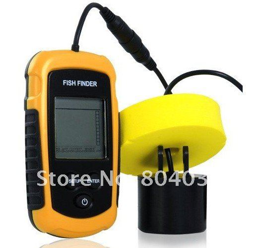 Depth Sonar Big LCD Fish Finder FishFinder Alarm 100M.jpg