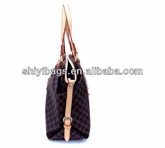 Stereo Clipping Convex Women Tote Hand Shoulder Handbag Bag