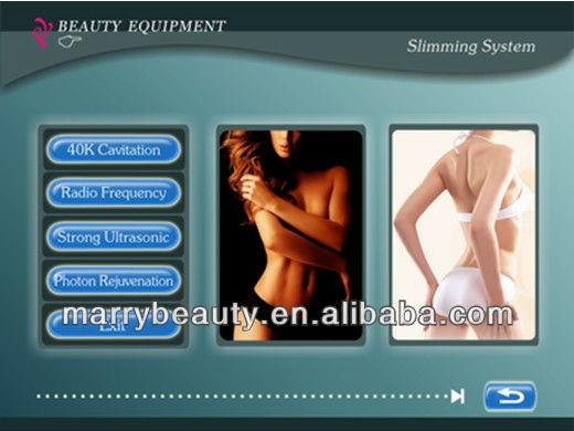 2013 Spa Use Cavitation Shape And Slim Machine For Sale