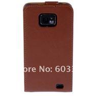 Чехол для для мобильных телефонов Geguine leather case for samsung galaxy SII i9100, galaxy s2 i9100 case cover protector, accept mix color