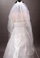 Свадебная фата hot sale SKI-888 Rose bridal veil wedding veils bridal accesories veil bridal veil White/Ivory