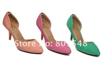 Туфли на высоком каблуке Office worker faves style, lady's pointed toe sweety high heeled shoes, heorshe/pumps sexy sandals EUR size 35-39 5 colors R013