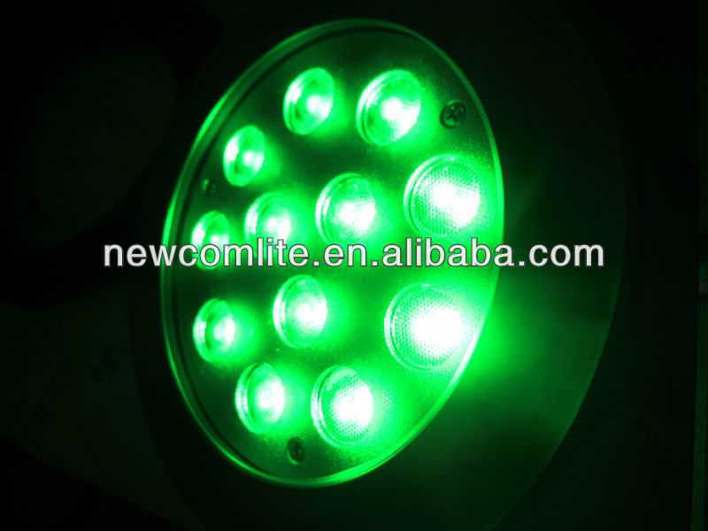 12*3W IP68 LED swimming pool light RGB