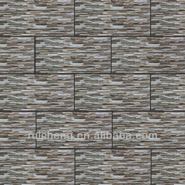 300600mm 3d Inkjet Stone Exterior Wall Cladding Tiles