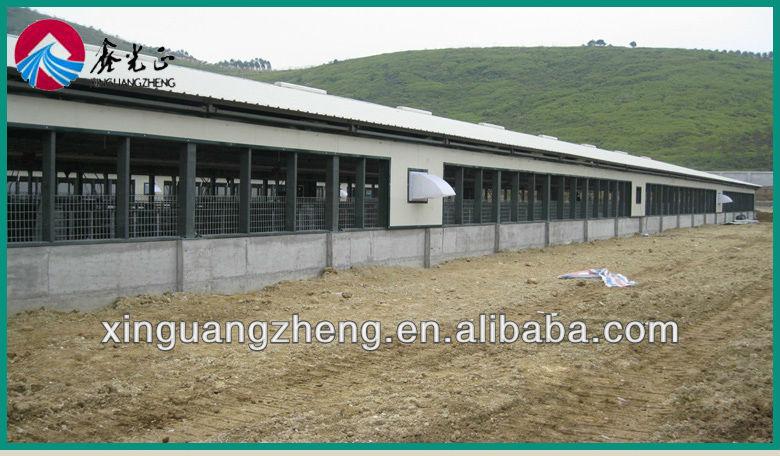 Prefab Steel Structure Pig House Shed Hog House Shed