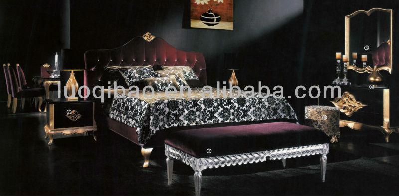 luxus schlafzimmer möbel-Bett-Produkt ID:693319873-german.alibaba.com