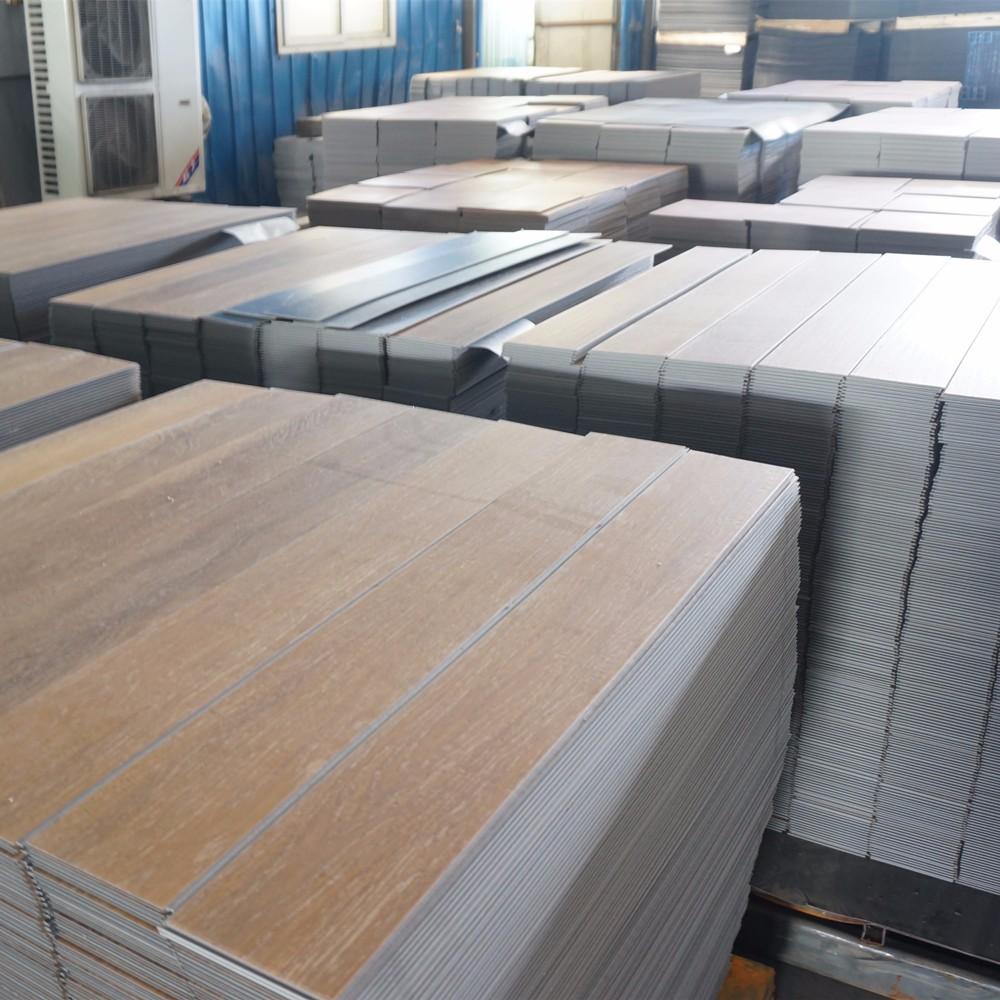 Haute qualit cliquez vinyle pvc plancher rev tements de for Plancher exterieur pvc