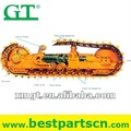 Excavadora PC200-5 Piezas de repuesto del chasis, partes chasis de la topadora
