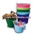 cubo flexible jardineras con tapas