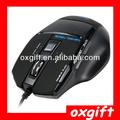 Oxgift 2014 alibaba venta superior led juego del ratón, ratón de la computadora