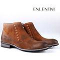 moda 2014 nuevos oxford alta botas de tobillo para los hombres