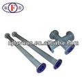 venta caliente de acero al carbono de pvc accesorios de tubería