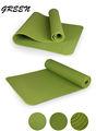preço de fábrica atacado logotipo impresso tela verde tpe yoga mat