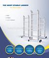 Escalera de aluminio multiusos