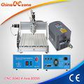 Máquina fresadora PCB CNC CNC6040Z-S65J V2 para grabado PCB. Éxito de ventas.
