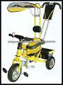 Triciclo do bebê com Sun galpão, -da fábrica chinesa