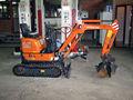 Hitachi ZX10U-2 máquina excavadora hidráulica sobre orugas