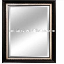 negro de madera tallada marco de fotos para la decoración de la pared