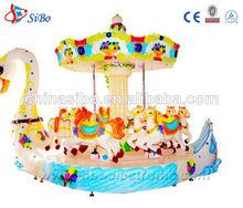Gmkp- 98 sibo coche eléctrico de los parques de atracciones carrusel de caballos para los niños