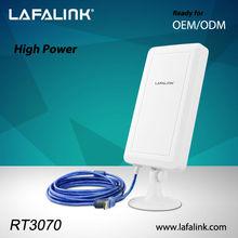 LAFALINK LF-D720 adaptador inalámbrico USB , tarjeta de red inalámbrica para PC de escritorio, largo alcance wifi equipamiento