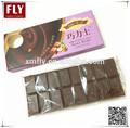 100g sabor de la leche compuesto de barras de chocolate oscuro