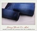 98% algodão 2% spandex tecido denim em vestidos de dança de salsa