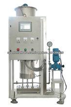 Transportador de tornillo líquido para plantas de manejo de materiales